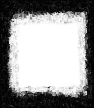 Computer designed grunge border or frame Stock Photo - 17517574