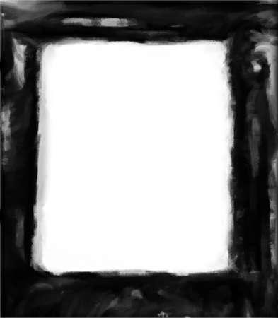 Computer designed grunge border or frame Stock Photo - 17517543