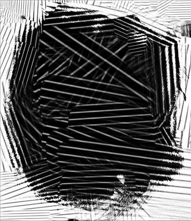 Black and white texture art background Stock Photo - 17517581