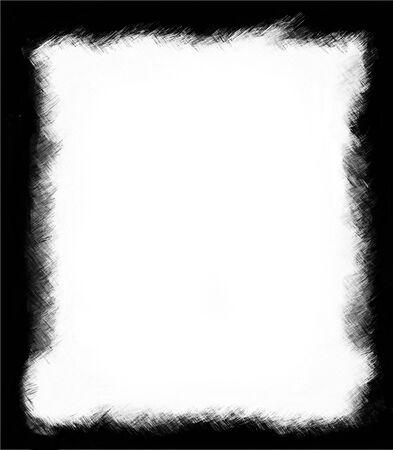 tearing down: Computer designed grunge border or frame