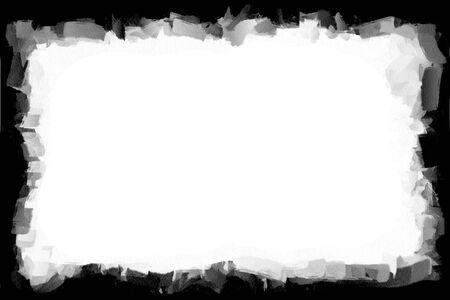 Computer designed grunge border or frame Stock Photo - 17618439