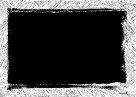 Computer designed grunge border or frame Stock Photo - 17618510