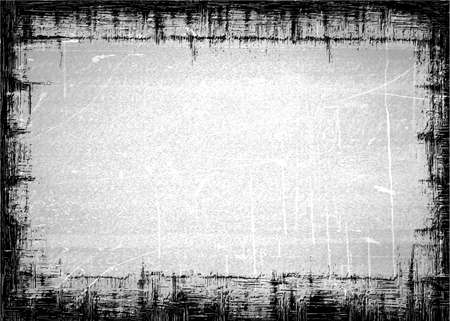 tearing down: Grunge texture border or frame
