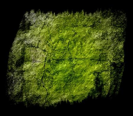 meteorites: green grunge texture art background  Stock Photo