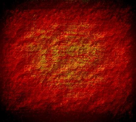 meteorites: red grunge texture art background