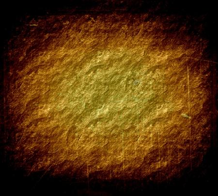 meteorites: dark gold grunge texture art background  Stock Photo