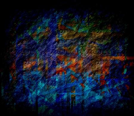 moody: dark blue grunge texture art background