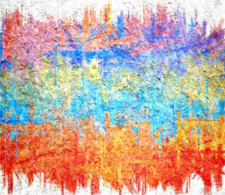 moody: orange blue yellow grunge texture art background