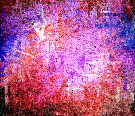 purple red grunge texture art background Stock Photo - 17684152