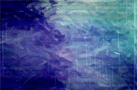 blue green grunge texture art background Stock Photo - 17683992
