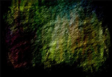 meteorites: dark green grunge texture art background