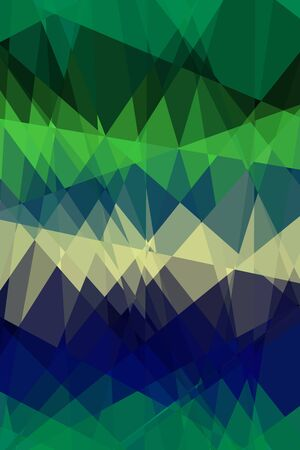Retro abstract cubism art graphic design background