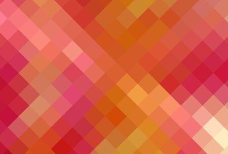 multi-color diamond cubism art background photo