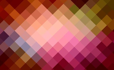 multi-color diamond cubism art background photo