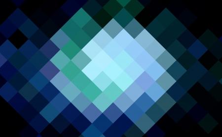 cubismo: diamante azul de fondo cubismo arte Foto de archivo