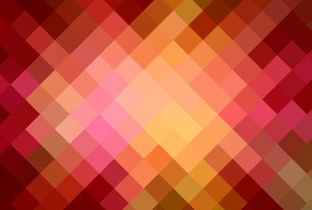 warm colors diamond cubism art background photo