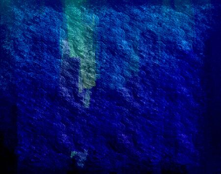 Dark blue stone wall texture background photo