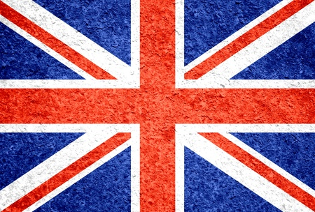 royal family: Grunge United Kingdom flag Stock Photo