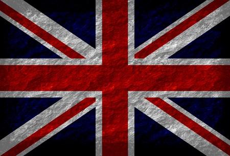 Grunge United Kingdom flag photo