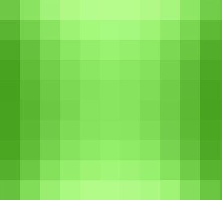 cubism: green square cubism art background Stock Photo