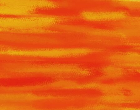 Abstract orange hand painted art for background photo