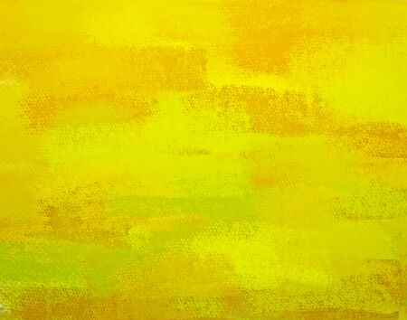 Abstract yellow lime hand painted art for background photo