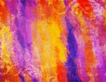 Art grunge vintage colorful texture background photo
