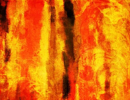 Art grunge vintage yellow orange texture background photo