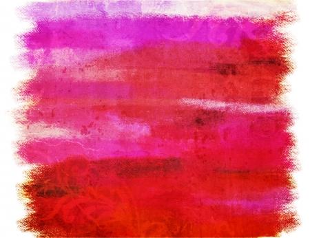 rundown: Art grunge vintage red texture background