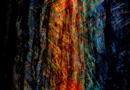 rundown: Vintage Colorful Wood Art Texture Background