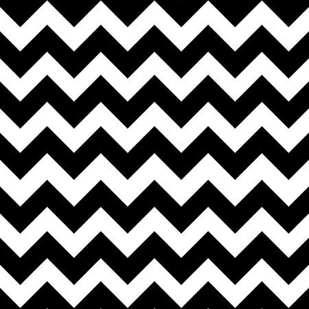Black and white chevron zigzag seamless pattern