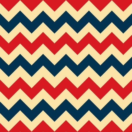 Red and navy blue chevron zigzag seamless pattern