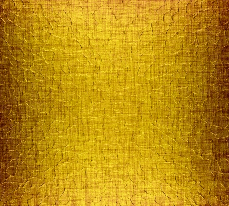Gold metal plate texture background photo