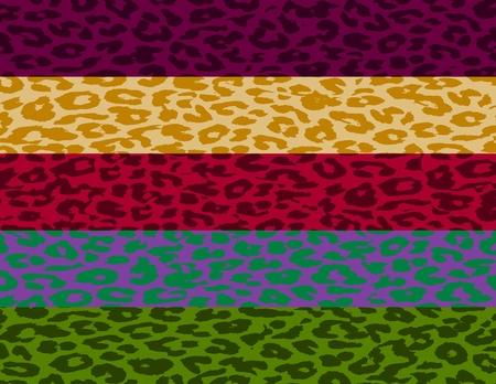 Leopard Print Skin Stripe Pattern 4 photo