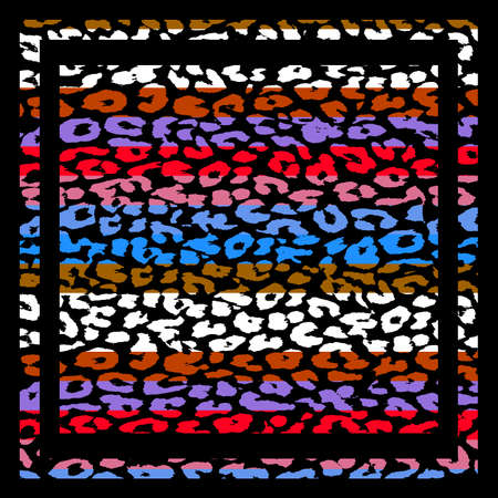 Colorful Leopard Print Skin Stripe Pattern 13 photo