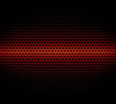 anodized: Dark Red Steel Metal Hole Texture Background Stock Photo
