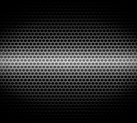 Dark Steel Metal Hole Texture Background photo