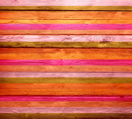 Vintage painted wood background photo