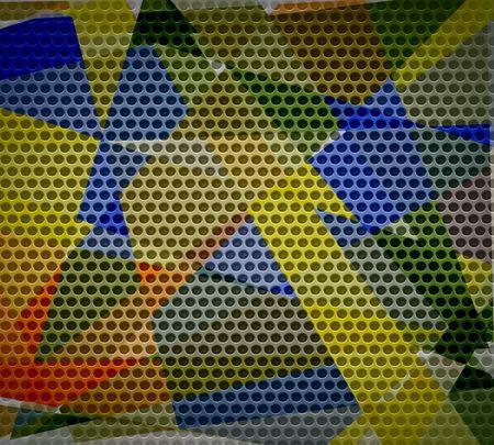 Modern metal texture background Stock Photo