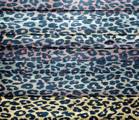 Art leopard wood texture background photo