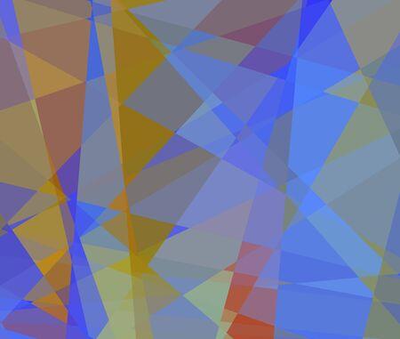 cubismo: cubismo abstracto Fondo de mosaico