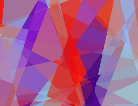 cubismo: cubismo abstracto de fondo de mosaico