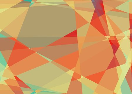 Retro abstract cubism mosaic background photo