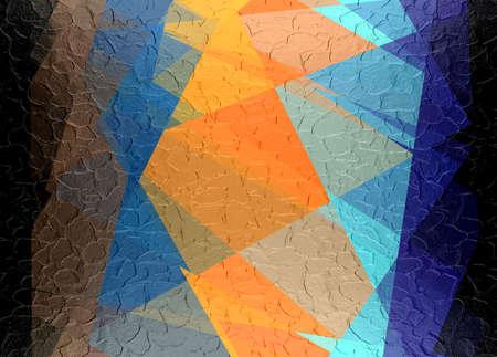 retro mosaic metal plate texture background photo