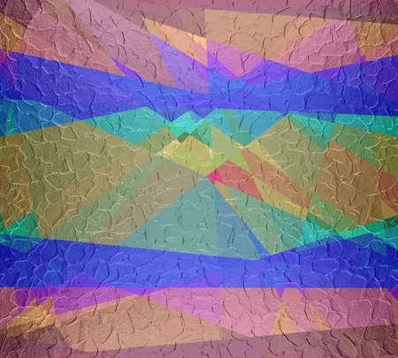 cubismo: Cubismo acero plateado de metal de fondo Foto de archivo