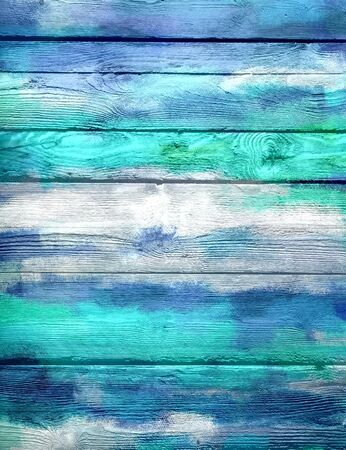 blue wooden texture background photo