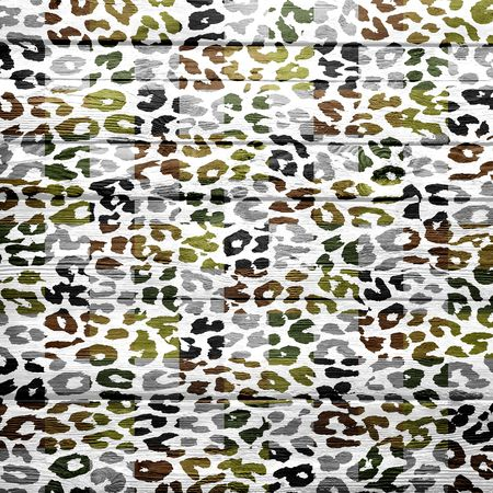 chetah: vintage wood background overlays leopard print