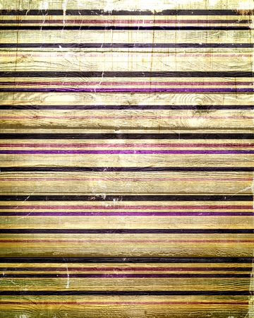 old color painted stripes on wood texture photo