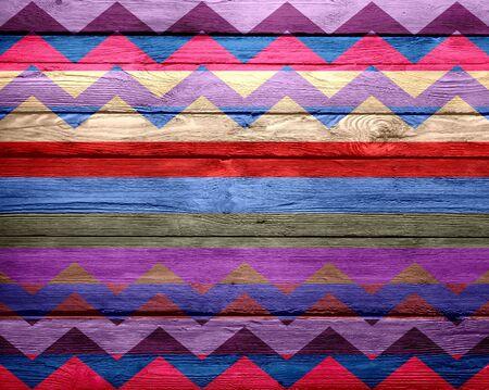 stripe pattern: Seamless Colorful Chevron Stripe Pattern Stock Photo
