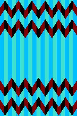 Seamless Chevron Stripe Pattern photo